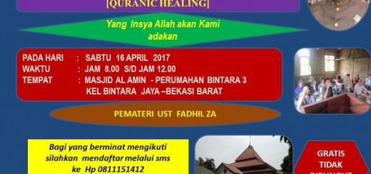 JADWAL LATIHAN APRIL 2017